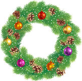 Kerstmiskroon Stock Fotografie
