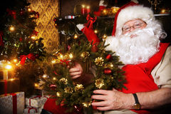Kerstmiskroon Stock Afbeelding