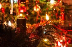 Kerstmislicht Royalty-vrije Stock Afbeeldingen