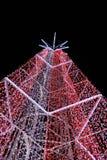 Kerstmislichten Stock Afbeeldingen