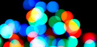 Kerstmislichten Royalty-vrije Stock Afbeelding