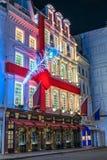 Kerstmislichten van Londen Stock Foto's