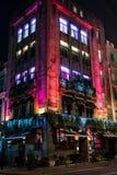 Kerstmislichten van Londen Stock Afbeeldingen