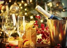 Kerstmislijst het Plaatsen Royalty-vrije Stock Foto