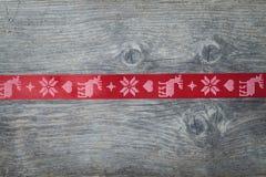 Kerstmislint stock foto