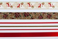Kerstmislinten Royalty-vrije Stock Fotografie