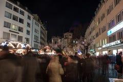 Kerstmismarkt Royalty-vrije Stock Foto's