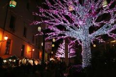 Kerstmismarkt Stock Fotografie