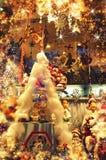 Kerstmismarkt Stock Foto's
