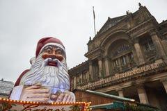 Kerstmismarkt in Birmingham stock afbeelding