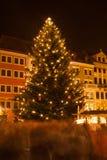 Kerstmismarkt in Goerlitz Royalty-vrije Stock Afbeeldingen