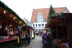 Kerstmismarkt Meissen Duitsland Stock Fotografie