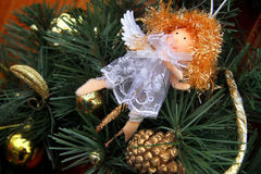 Kerstmismarkt in Uzhgorod Royalty-vrije Stock Foto's