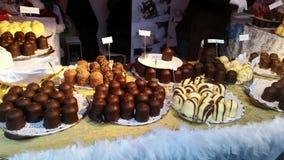 Kerstmismarkt van Amsterdam Royalty-vrije Stock Foto