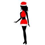 Kerstmismeisje  Stock Afbeelding