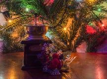 Kerstmismolen stock foto