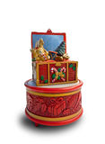 Kerstmismuziekdoos Royalty-vrije Stock Foto