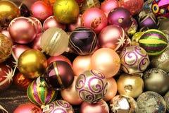 Kerstmisornamenten royalty-vrije stock fotografie