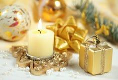 Kerstmisornamenten stock fotografie