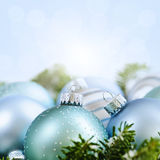 Kerstmisornamenten Stock Foto