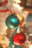 Kerstmisornamenten Royalty-vrije Stock Afbeeldingen