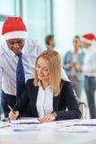 Kerstmisovereenkomst Royalty-vrije Stock Afbeeldingen