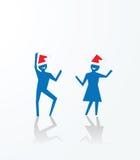 Kerstmispartij Stock Afbeeldingen