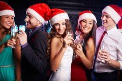 Kerstmispartij Stock Afbeelding