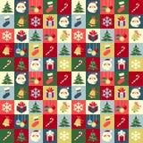 Kerstmispatroon Royalty-vrije Stock Foto