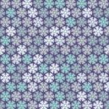 Kerstmispatroon in lichte pastelkleuren Stock Foto
