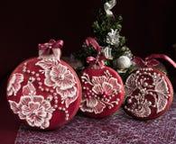 Kerstmispeperkoek royalty-vrije stock afbeelding