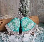 Kerstmispeperkoek royalty-vrije stock foto's
