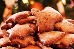 Kerstmispeperkoek Stock Foto
