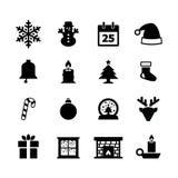 Kerstmispictogram vector illustratie