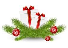Kerstmispictogram Stock Afbeelding