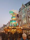 Kerstmispiramide Royalty-vrije Stock Fotografie