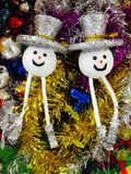Kerstmispoppen Royalty-vrije Stock Afbeeldingen