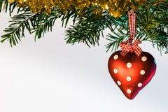 Kerstmisprentbriefkaar Royalty-vrije Stock Foto