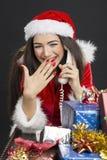 Kerstmispret Royalty-vrije Stock Afbeeldingen