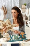Kerstmisregelingen Stock Afbeelding