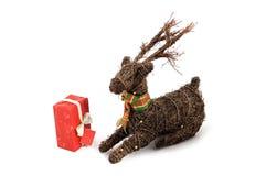 Kerstmisrendier Royalty-vrije Stock Foto's