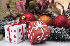 Kerstmissamenstelling Royalty-vrije Stock Foto