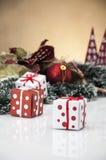 Kerstmissamenstelling Stock Foto