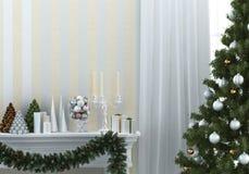 Kerstmissamenstelling Stock Afbeeldingen