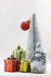 Kerstmissamenstelling royalty-vrije stock afbeelding
