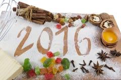 2016 Kerstmissamenstelling Royalty-vrije Stock Fotografie