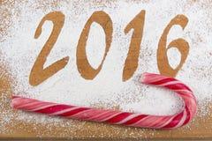 2016 Kerstmissamenstelling Stock Afbeelding