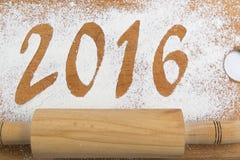 2016 Kerstmissamenstelling Stock Afbeeldingen