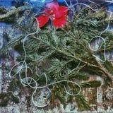 Kerstmissamenstelling Royalty-vrije Stock Afbeeldingen