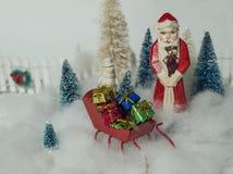 Kerstmisscène Stock Afbeelding